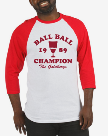 Ball-Ball Champion The Goldbergs Baseball Jersey