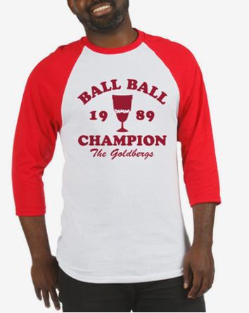 Ball-Ball Champion The Goldbergs Baseball Jersey
